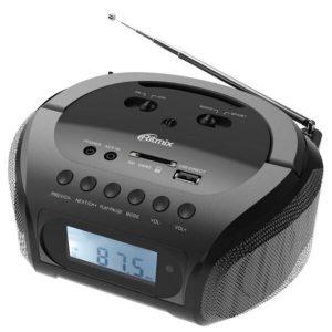Магнитола Ritmix RBB-020BT Black