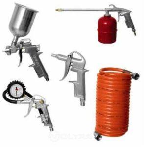 Набор пневмоинструмента ECO SGK-5 (5 предметов)