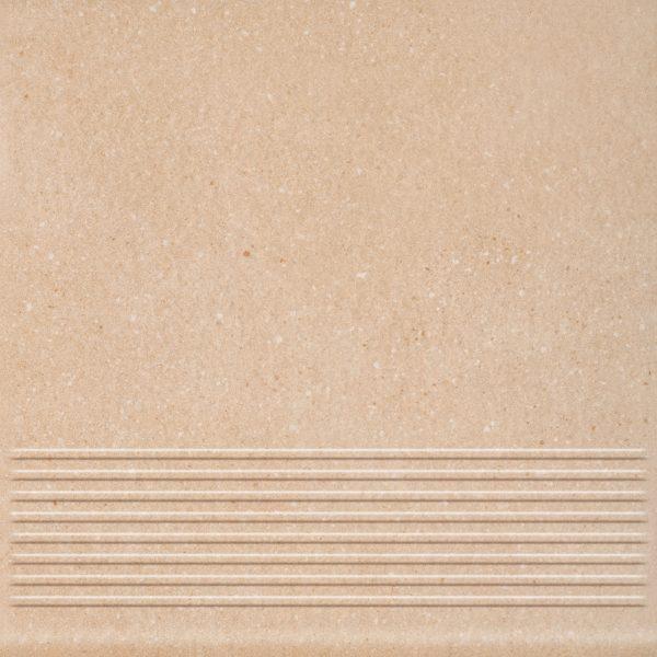 Плитка Mattone Sabbia клинкер ступень беж 300х300