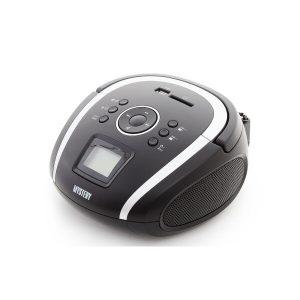 Портативная аудиосистема MYSTERY BM-6004UB black/silver