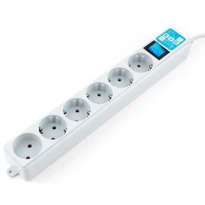 Сетевой фильтр Power Cube SPL(5+1)-16B-P-1