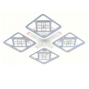 Светильник подвесной (LED) CHL-LI8859/4A белый (РГБ) с пультом (192+10Вт