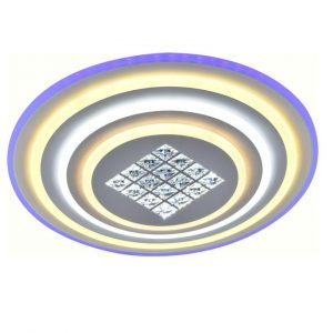 Светильник подвесной (LED) CHL-LI8934/500 белый с пультом (122+15Вт