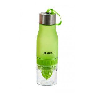 Бутылка для воды с соковыжималкой BRADEX SF 0520 (салатовый)