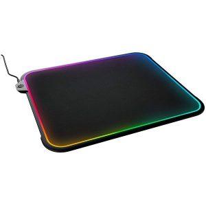 Игровой коврик STEELSERIES QcK Prism Cloth - M RGB (63825)
