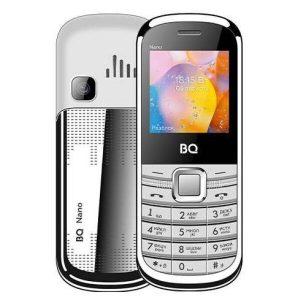Мобильный телефон BQ-Mobile BQ-1415 Nano (белый/серебристый)