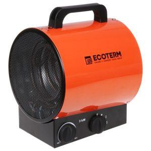 Нагреватель воздуха электрический Ecoterm EHR-03/1E
