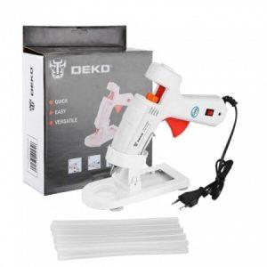 Термоклеевой пистолет Deko DKGG100 Set 4 (063-4971)