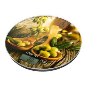 Весы кухонные Marta MT-1640 (олива)